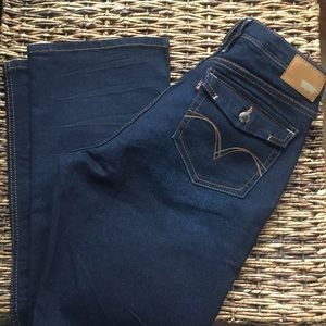 Levi's Bold Curve low rise bootcut skinny